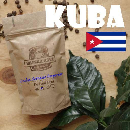Brdská káva - Cuba Serrano Superior