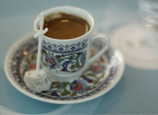 Odpolední káva mezi kapkami deště aneb džezva je bezva