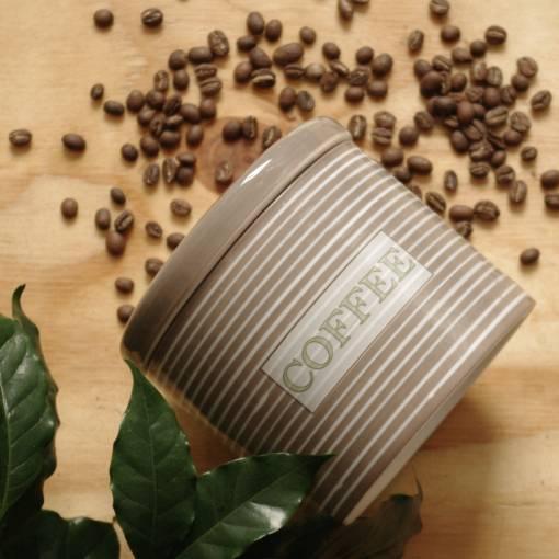 Keramická dóza - coffee
