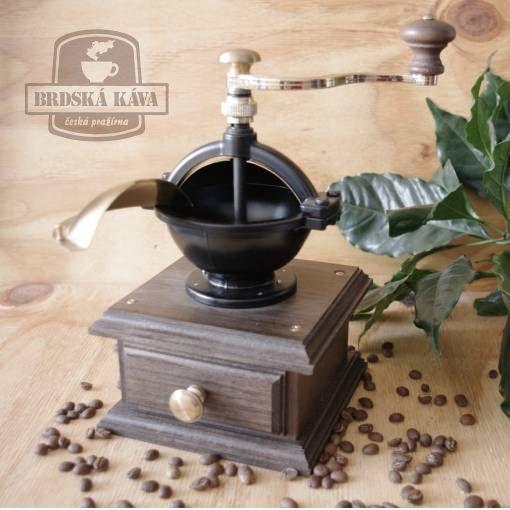 Ruční kávomlýnek pro Brdskou kávu - mod. 169DG