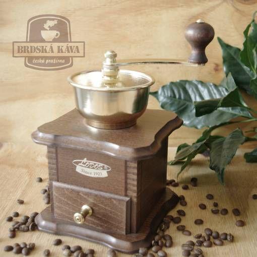 Ruční kávomlýnek pro Brdskou kávu - mod. 1930