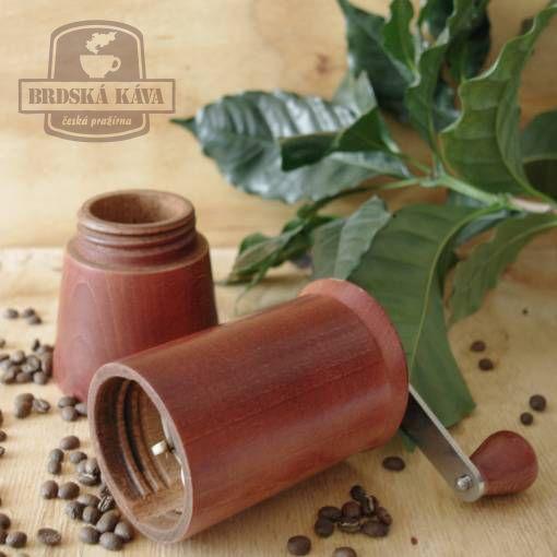 Ruční kávomlýnek pro Brdskou kávu - 2012