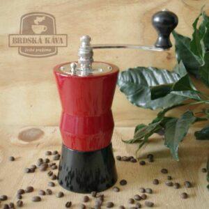 Ruční kávomlýnek pro Brdskou kávu - mod. 2015