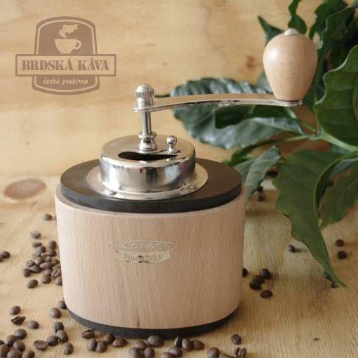 Ruční kávomlýnek pro Brdskou kávu - Ovál