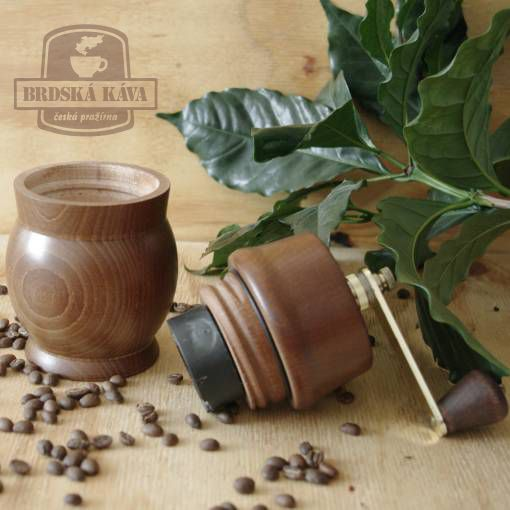 Ruční kávomlýnek pro Brdskou kávu - Rondo