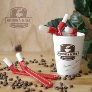 Kartáček na čištění hlavy kávovaru